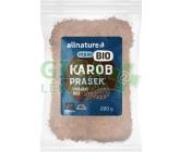 Obrázek Allnature Bio Karob - svatojánský chléb prášek 200g