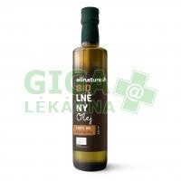 Allnature Lněný olej BIO 250ml