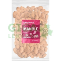 Allnature Mandle jádra natural 1000g