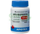 Apo-Ibuprofen 400mg por.tbl.flm.30x400mg