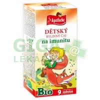 Apotheke Dětský čaj BIO na imunitu 20x1,5g