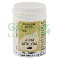 Aurum metallicum AKH - 60 tablet