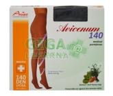 Avicenum140 punč.kalh.3A/K černá