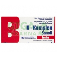 B-komplex forte Sanofi 100 tablet