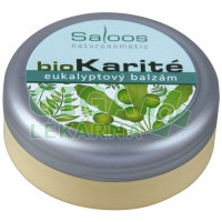 Saloos bio Karité eukalyptový balzám 50ml