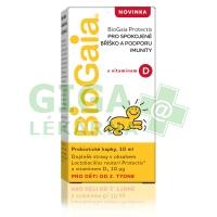 BioGaia Protectis s vitamínem D 10ml