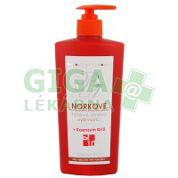 Body Tip Norkové tělové mléko hydratační koenz.Q10 400ml