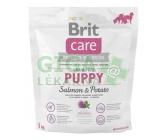 Brit Care Grain Free Dog Puppy Salmon & Potato 1kg