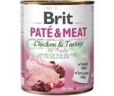 Brit Dog konz Paté & Meat Puppy 800g