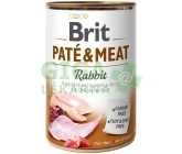 Brit Dog konz Paté & Meat Rabbit 800g