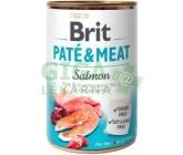 Brit Dog konz Paté & Meat Salmon 800g