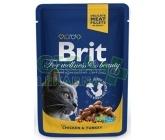 Brit Premium Cat kaps. - Chicken & Turkey 100g