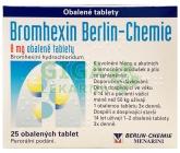Obrázek Bromhexin 8 - 25 tablet Berlin-Chemie