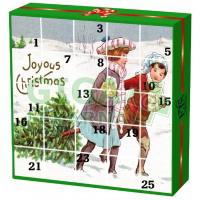Čaje Advent.kalend.radostné vánoce English Tea13 druhů 25ks
