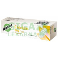 Calcium 500mg Pharmavit 20 šumivých tablet