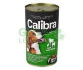 Calibra Dog konz.-jehněčí + hovězí + kuřecí v želé 1240g