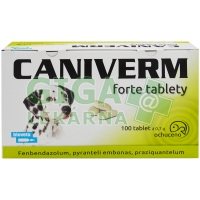 Caniverm forte tablety 100x700mg