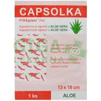 CAPSOLKA Kapsaicínová náplast ALOE 13x18cm 1ks