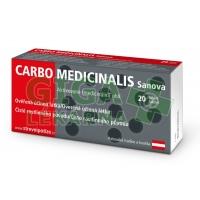 Carbo Medicinalis Sanova 20 tablet