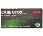 Carbotox tbl.20 - blistr