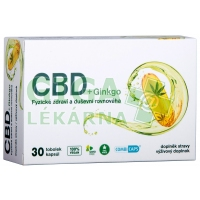 CBD + Ginkgo 30 tobolek Favea