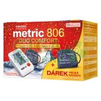 Cemio Metric 806 Duo Comfort Tonometr + velká manžeta
