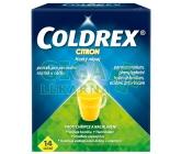 Obrázek Coldrex Horký nápoj Citron 14 sáčků