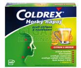 Obrázek Coldrex Horký nápoj citron med 10 sáčků