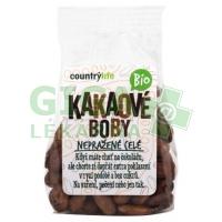 Country Life Kakaové boby nepražené celé 100 g BIO