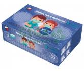 Obrázek Dětská jednorázová rouška modrá 25ks velikost S
