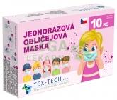 Dětská rouška Tex-Tech 10ks holka