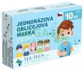 Dětská rouška Tex-Tech 10ks kluk