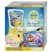 DETTOL Kids Zoo bezdotykový dávkovač mýdla Dobrodruh 250ml