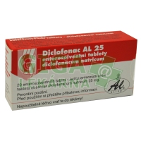 Diclofenac AL 25mg 20 tablet