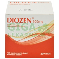 Diozen 500mg 120 tablet