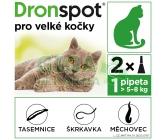 Obrázek Dronspot 96mg/24mg velké kočky spot-on 2x1.12ml