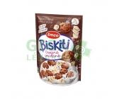 Emco Biskiti ovesné sušenky - čokoládoví s lupínky 350g