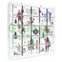English Tea Shop Bio Adventní kalendář Bílý 25ks