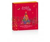 Obrázek English Tea Shop Bio Adventní kalendář červená kniha 25 pyramidek