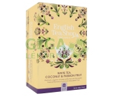 English Tea Shop Bio Bílý čaj Kokos a Passion fruit 20 sáčků
