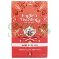 English Tea Shop Bio Červená řepa, jablko a borůvky 20s.
