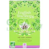 English Tea Shop Bio Zelený čaj s jasmínem a bezinkou mandala 20s.