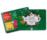 English Tea Shop Prémiová zelená plechová kolekce čajů 36 sáčků