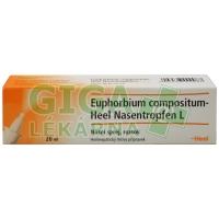 Euphorbium Comppositum - Heel nosní sprej 20ml