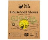 Fair Squared Rukavice pro domácnost z přírodního latexu M