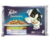 Felix cat-Fant.Multipack výběr z masa+zelenina  4x100g