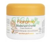Florame Deodorant krémový 24h mandlová esence 50g BIO