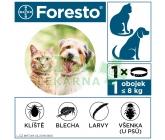 Obrázek Foresto obojek pro kočky a psy do 8kg