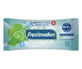 Freshmaker Antibakteriální vlhčené ubrousky 15 ks