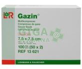 Gáza hydrofil.skl.kompr.ster.Gazin 7.5x7.5cm/100ks